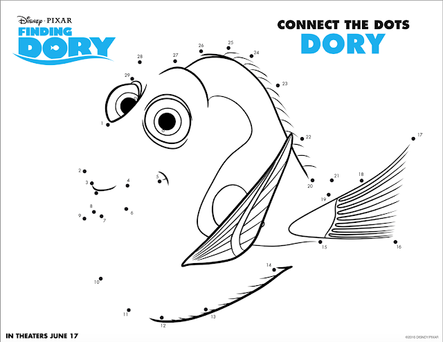 Woven by Words: Fun Finding Dory Activity Sheets