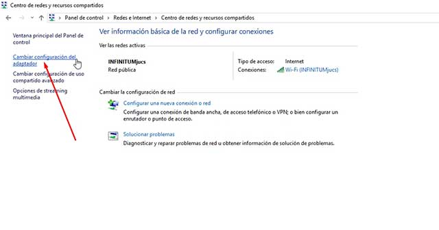 crear punto de acceso wifi windows 10