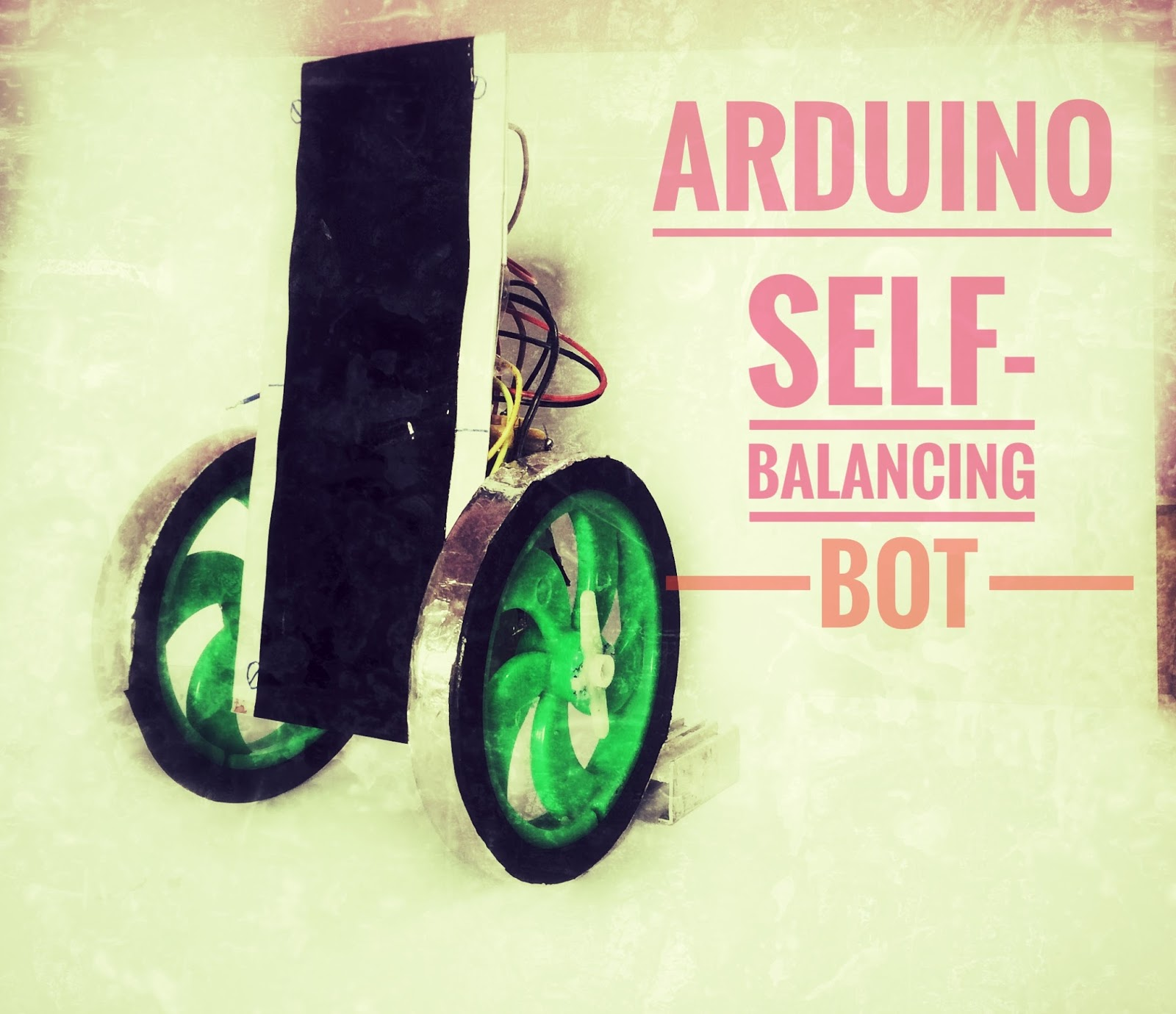 HelloCodings: Self Balancing Bot with PID