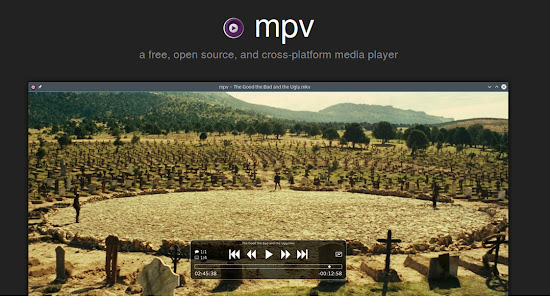 Install new MPV Player v0.18.0 on Ubuntu, Linux Mint