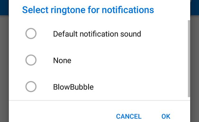 notifikasi suara