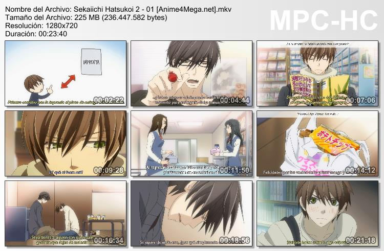 Sekaiichi Hatsukoi 2 capturas capitulo 01