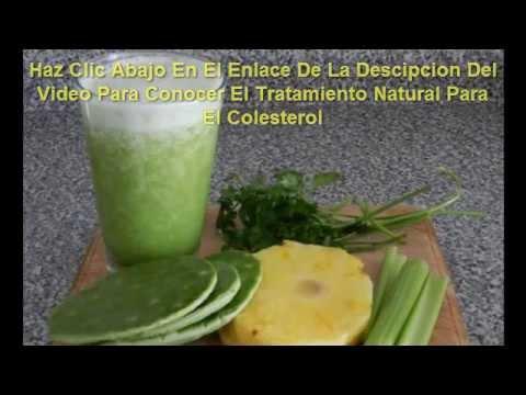 remedios naturales para los trigliceridos y el colesterol