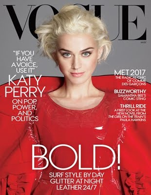 Katy Perry On Vogue Magz