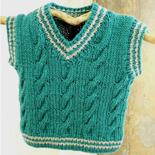 Keene Toddler Vest - Free Pattern