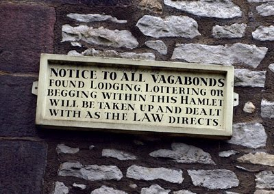 What is a vagrancy charge?
