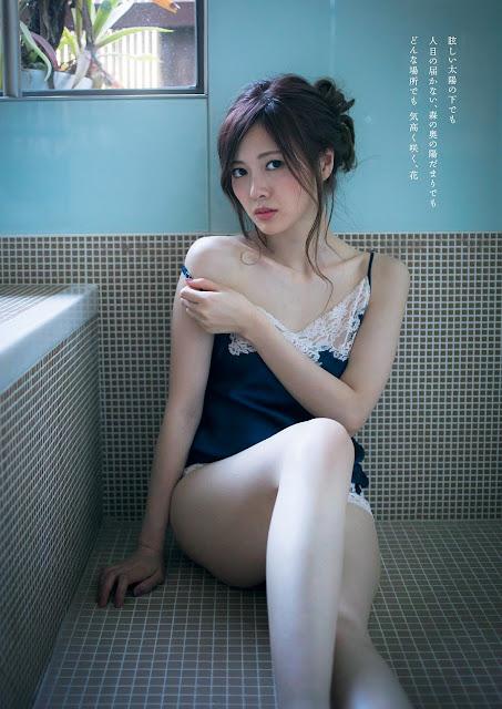 Shiraishi Mai 白石麻衣 like a flower images 05