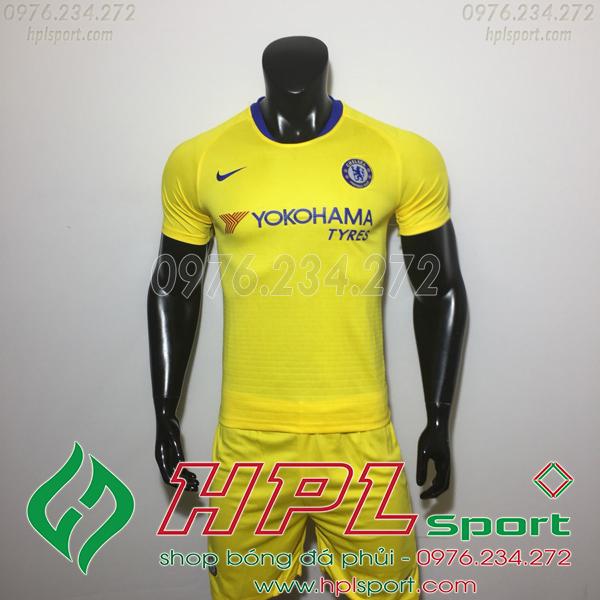 Áo đá bóng câu lạc bộ Chelsea vàng 2019