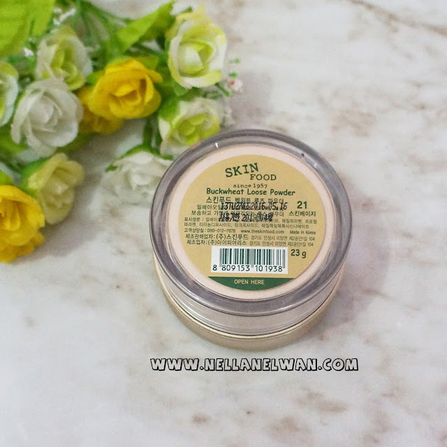 skinfood buckwheat loose powder no 21 review nellanelwan