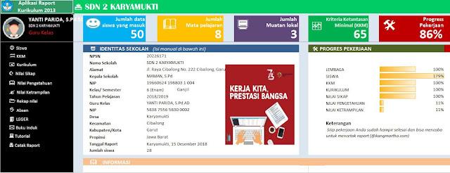 Download Aplikasi Rapor SD Kurikulum 2013 Kelas 1, 2, 3, 4, 5, 6 Mulok Bahasa Sunda Revisi 2018, https://perpustakaanguru.blogspot.com/