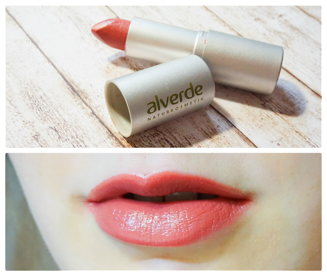 alverde - Lippenstift Color & Care in 52 Primrose