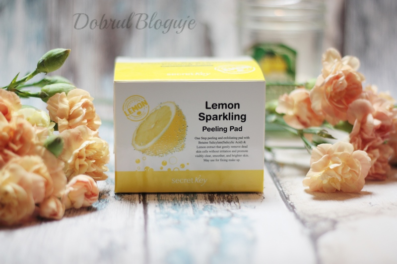 Secret Key- Lemon Sparkling Peeling Pad