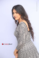 Actress Chandini Chowdary Pos in Short Dress at Howrah Bridge Movie Press Meet  0085.JPG