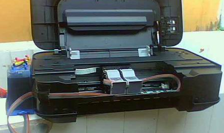 Cara Mengatasi Printer Canon IP2770 Lampu Berkedip Bergantian