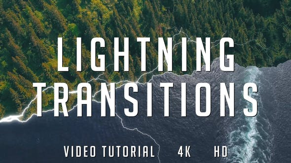 Lightning Transitions Pack | After Effects Project Files | Videohive 22191246 - Free download