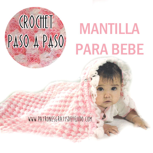 Tutorial mantilla crochet