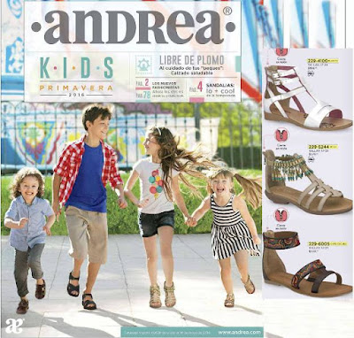 calzado Andrea Kids Niñas Prima 2016