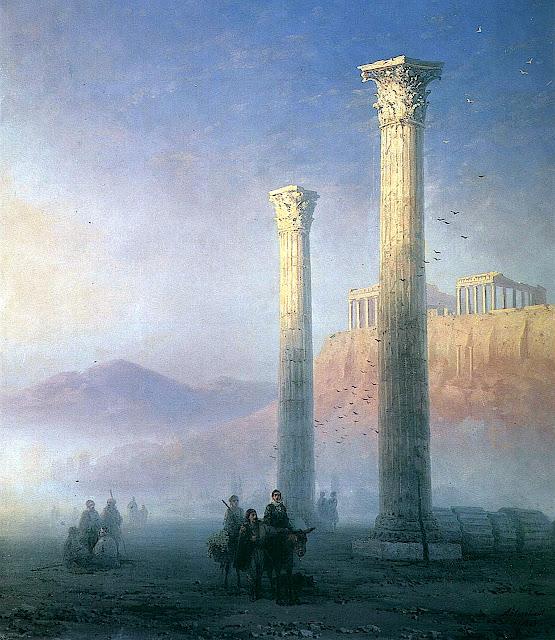 Ivan Aivazovsky ruins