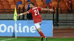 معلول يقود الأهلي للفوز على فريق ماميلودي سونداونز بثنائية في ذهاب ربع نهائي دوري أبطال أفريقيا