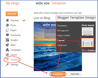 best Hindi blog design