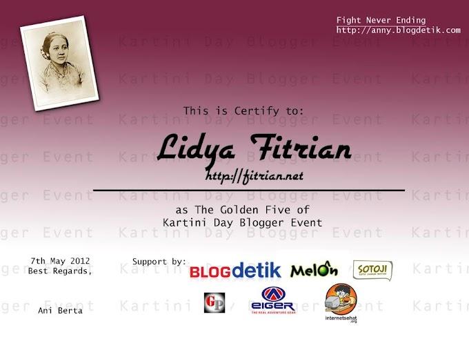 Kartini Day Blogger Even