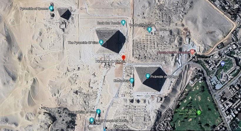 Complexo de Gizé - Pirâmides do Egito