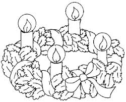 Pãozinho do Céu: Coroa do Advento: para Colorir