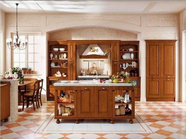 decorar cozinha rustica:Inspire-se numa cozinha rústica ~ Ás nove em ponto