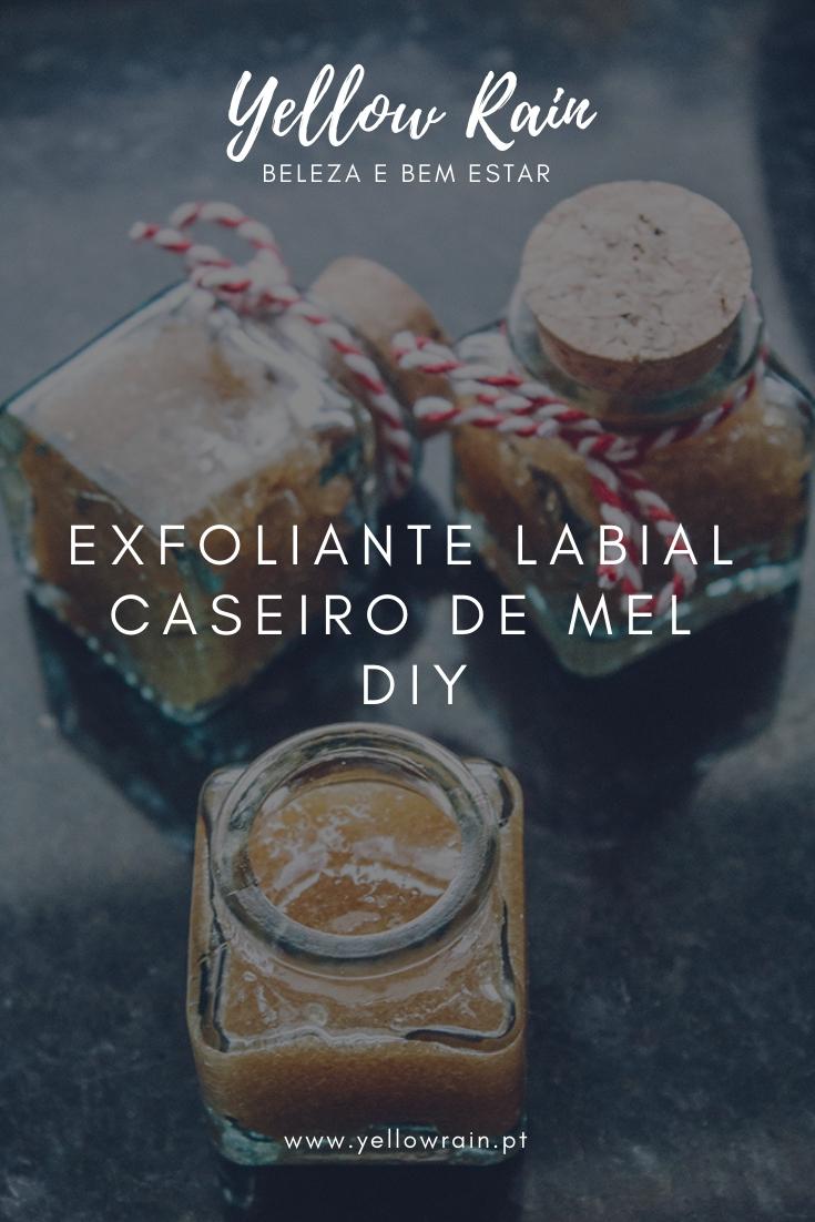 Exfoliante Labial Caseiro De Mel | DIY