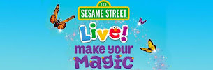 Sesame Street LIVE! is Back. Congrats to Nicole F, ChiIL Mama's Family 4 Pack Ticket Winner. Enjoy!