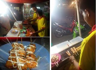 Bisnis, Bisnis Sate Seafood