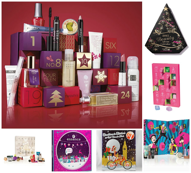 Christmas Beauty Advent Calendars 2015