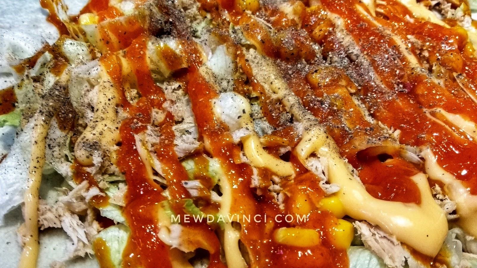Topping crepe di kedai Crepe Siganture