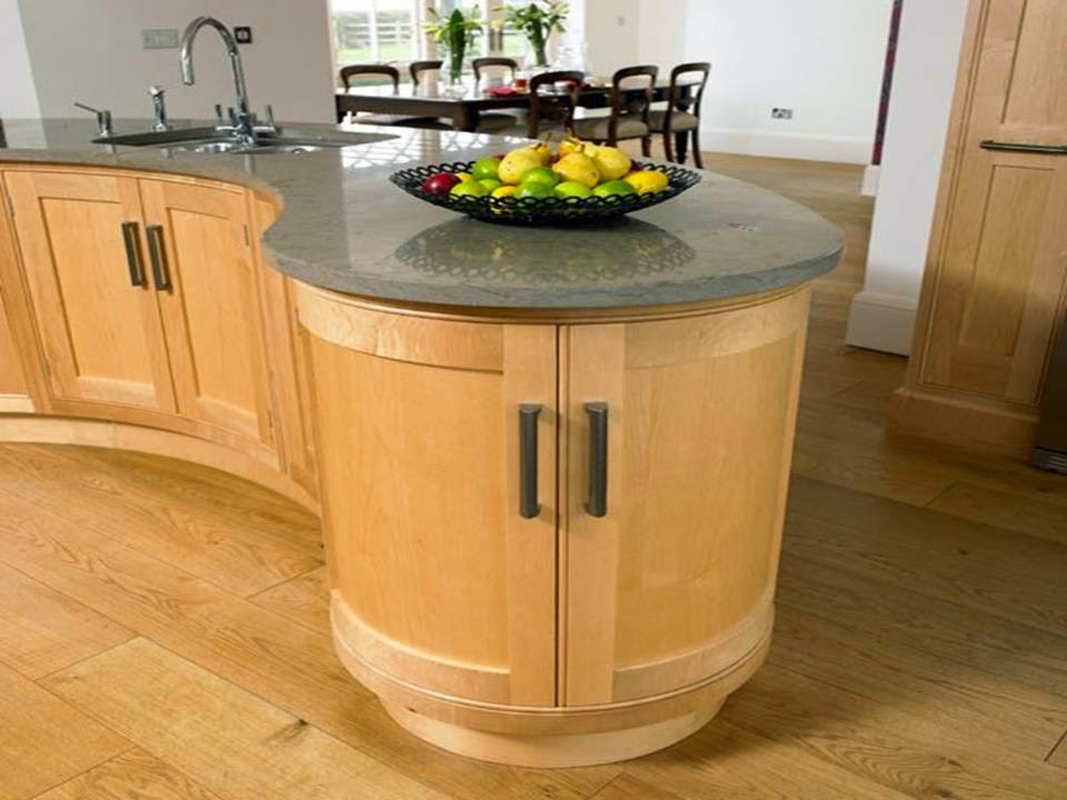 Curved kitchen cabinets - Home Decor