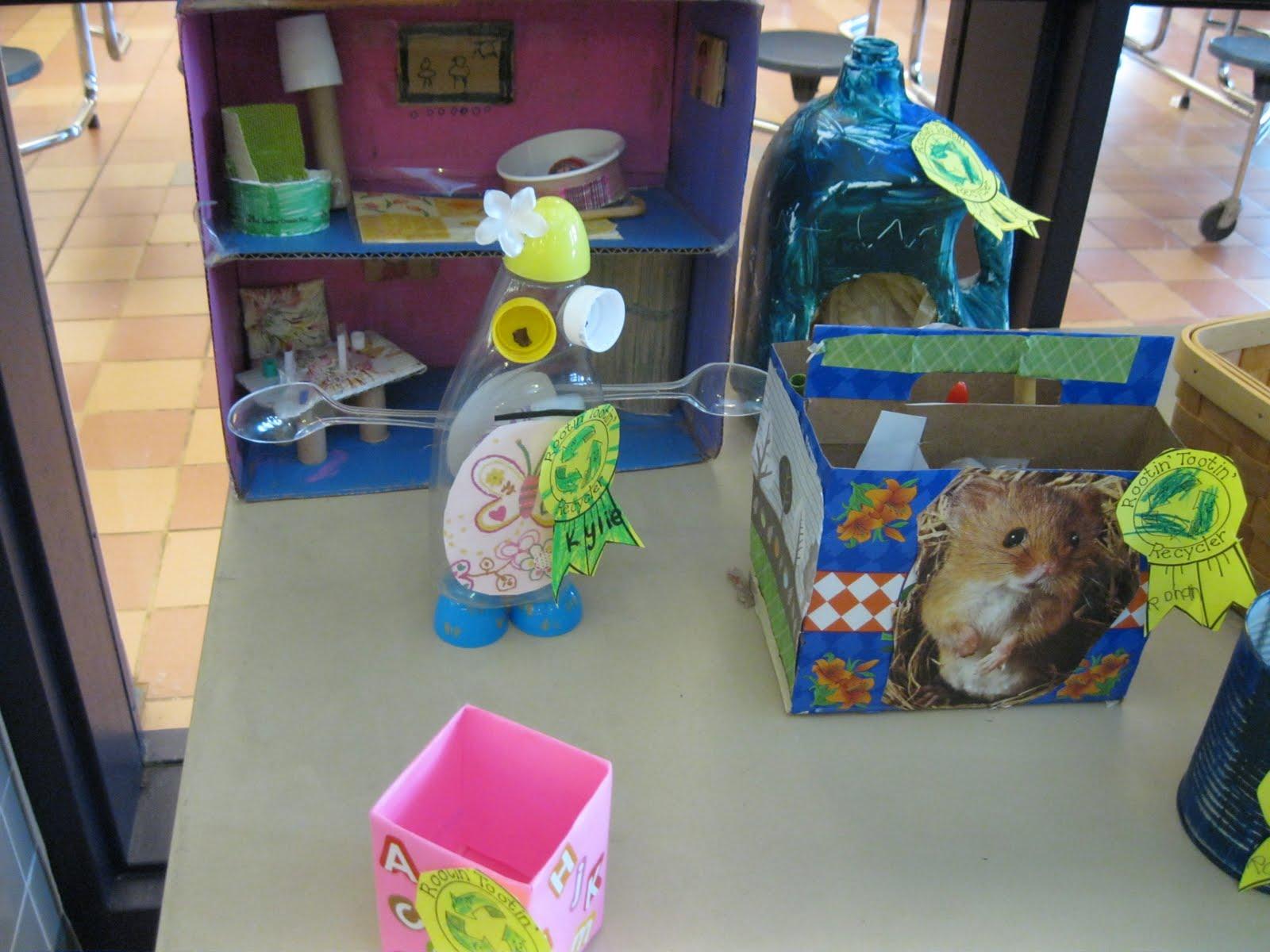 Woodville School S Blog Kindergarten Recycling Projects