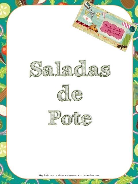 E-book Saladas de Pote