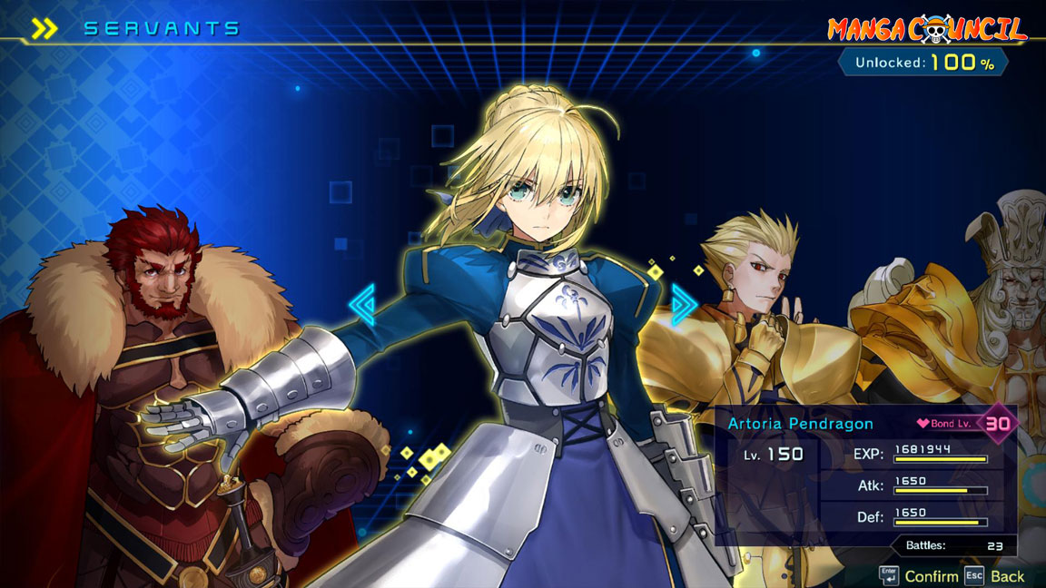 Fate/Extella Link Save Game | Manga Council