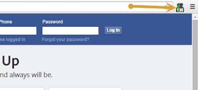 اضافات المتصفح لموقع فيسبوك