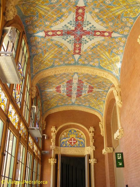 Recinte modernista de Sant Pau, Hospital de la Santa Creu i Sant Pau, ruta del modernisme per Barcelona, Lluís Domènech i Montaner