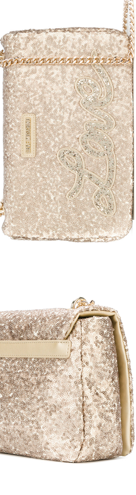 LOVE MOSCHINO Sequinned 'Love' Shoulder Bag