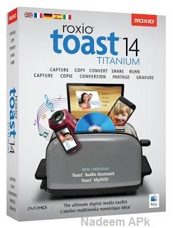 Roxio Toast 14 Titanium 14.0.3 Free Download