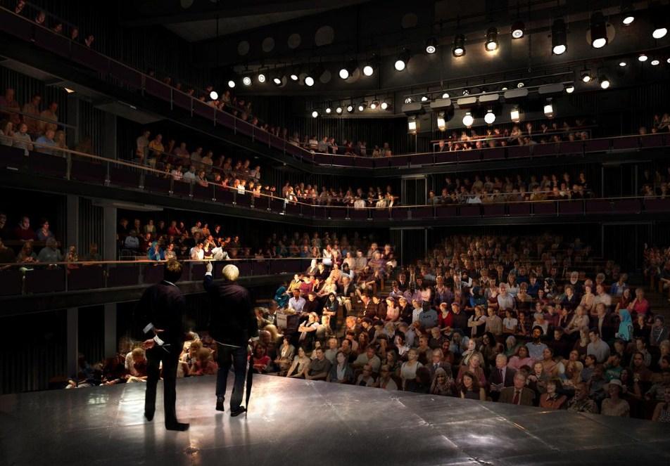 Ulasan Teater - Young Marx - Bridge Theatre, London