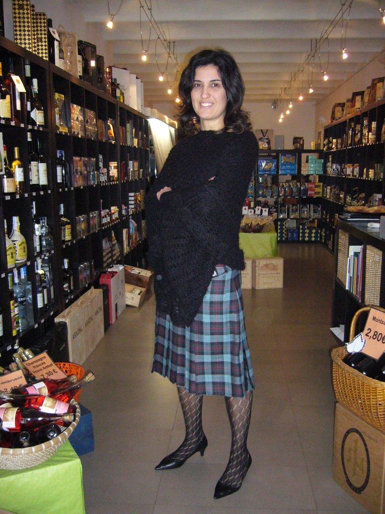 Fashion Tights Skirt Dress Heels Feminine And Sexy Look