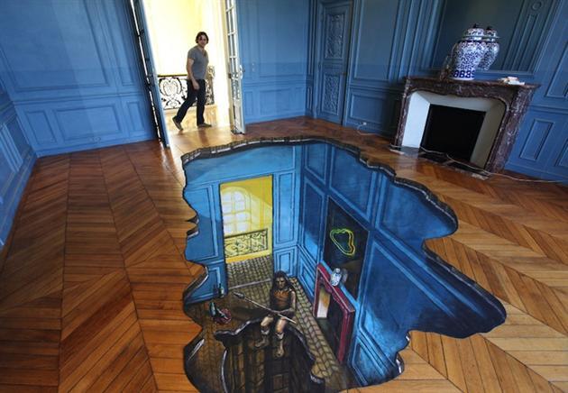 living room 3D floor designs
