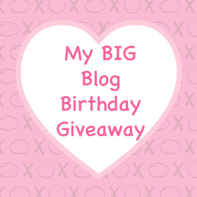 My BIG Blog Birthday Giveaway