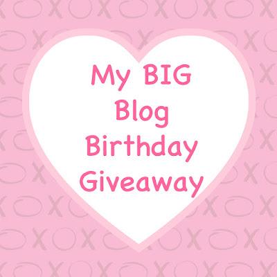 My BIG Blog Birthday Giveaway