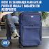 10 dicas de segurança para evitar o furto de bagagens em aeroportos