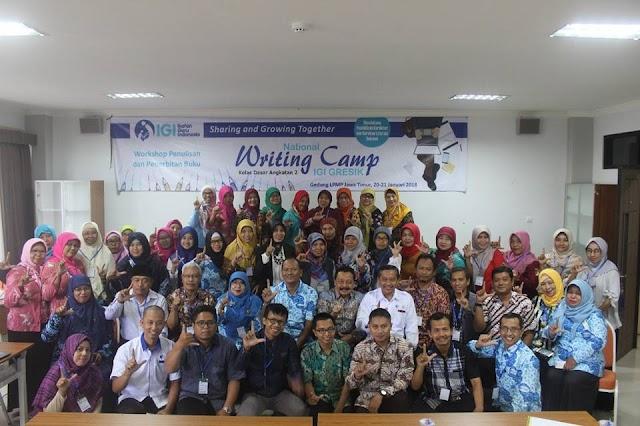 IGI Gresik adakan Writing Camp 2 di LPMP Jatim