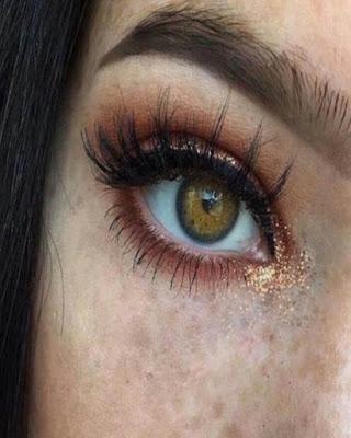 maquillaje de ojos adolescente