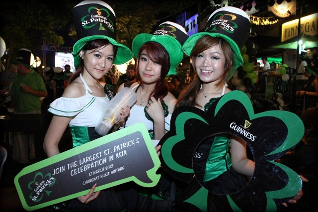 St Patrick's Day Street Party 2012 Bukit Bintang